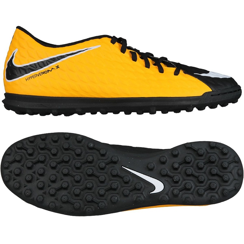 Fußballschuhe Nike HypervenomX Phade Iii Tf M 852545-801 mehrfarbig schwarz