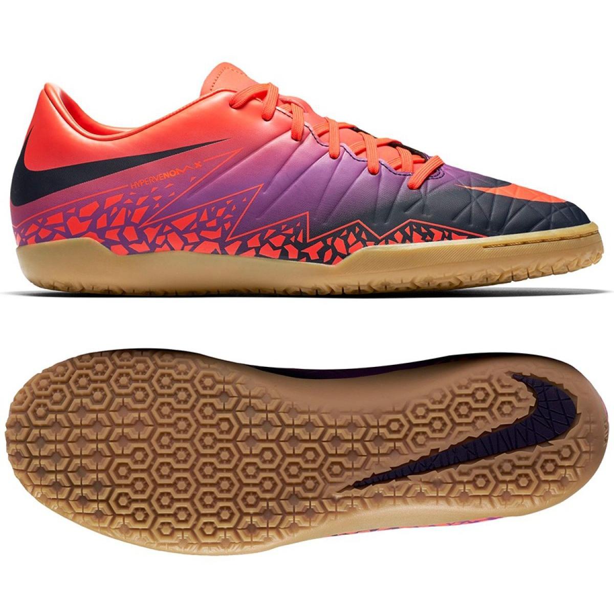 Hallenschuhe Nike Hypervenom Phelon Ii Ic M 749898-845