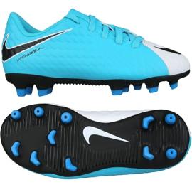 Fußballschuhe Nike Hypervenom Phade Iii Fg Jr 852580-104 blau blau