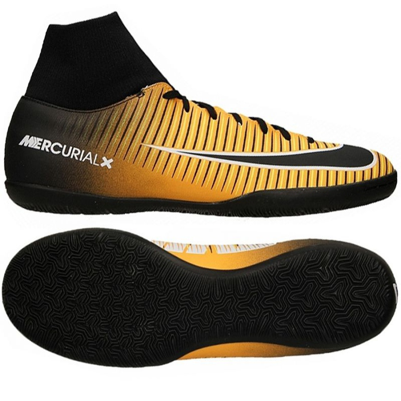 Hallenschuhe Nike MercurialX Victory 6 DF IC M 903613-801 schwarz