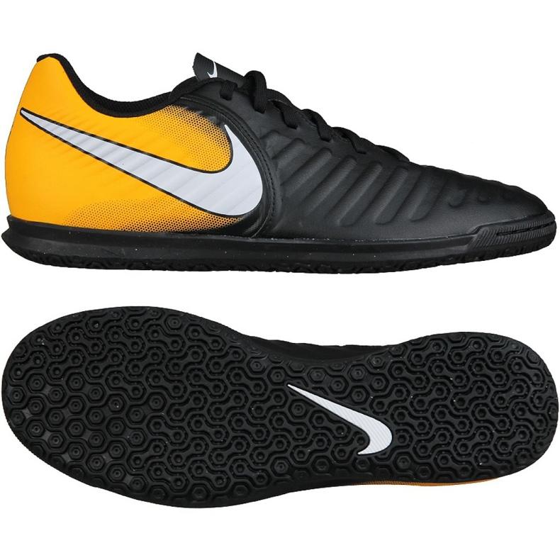 Hallenschuhe Nike TiempoX Rio Iv Ic M 897769-008 schwarz, gelb schwarz