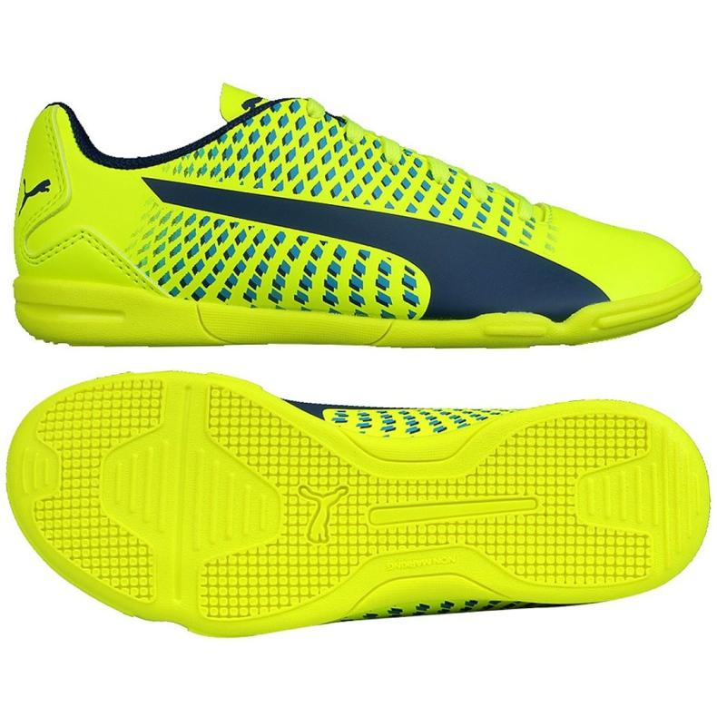 Indoor Schuhe Puma Adreno Iii In Jr 104050 09 grün gelb