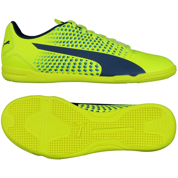 Indoor Schuhe Puma Adreno Iii It M 10404709 gelb grün