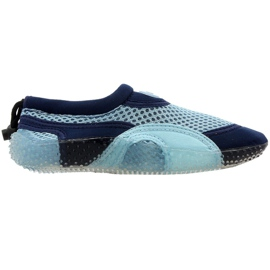 Neopren-Strandschuhe Aqua-Speed Jr blau