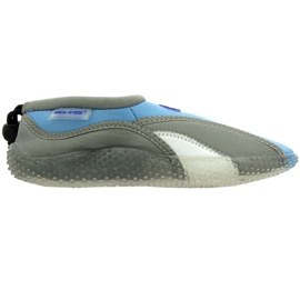 Aqua-Speed Jr. Neopren Strandschuhe grau