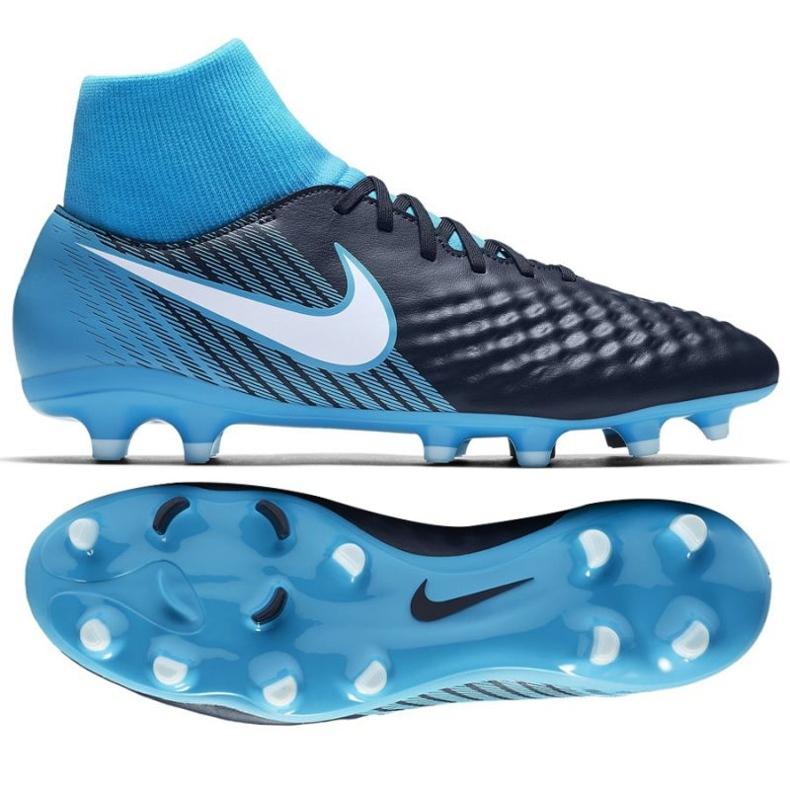 Fußballschuhe Nike Magista Onda Ii Df Fg M 917787-414 blau schwarz, blau