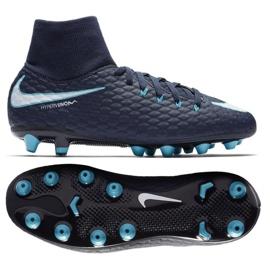 Fußballschuhe Nike Hypervenom Phelon marine