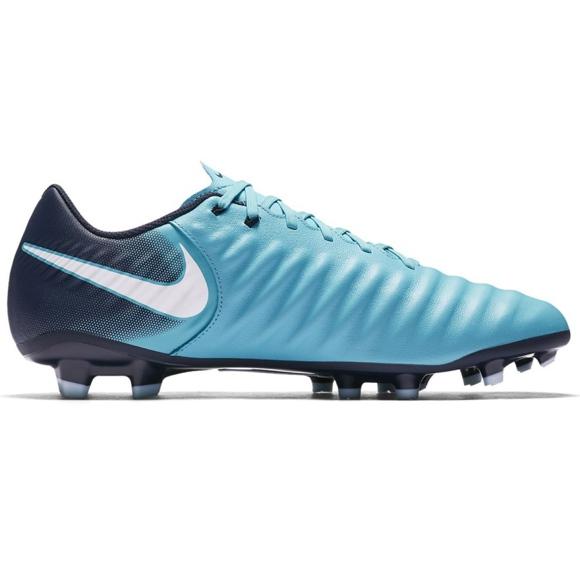 Fußballschuhe Nike Tiempo Ligera Iv Fg M 897744-414 blau