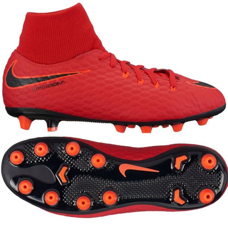 Fußballschuhe Nike Hypervenom Phelon rot