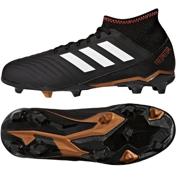 Fußballschuhe adidas Predator 18.3 FG Jr CP9010 schwarz