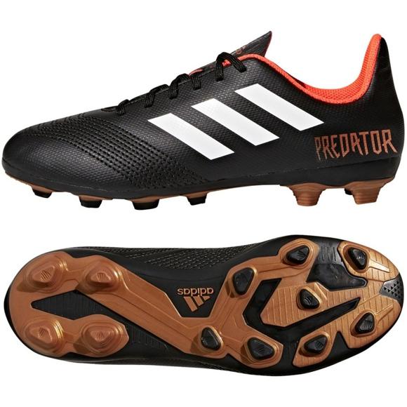 Fußballschuhe adidas Predator 18.4 FxG Jr CP9243 schwarz schwarz