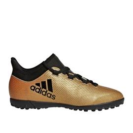 Fußballschuhe adidas X Tango 17.3 Tf Jr CP9024 gold gold