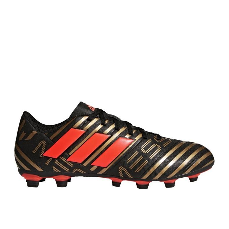 Adidas Fußballschuhe adias Nemeziz Messi 17.4 FxG M CP9046 mehrfarbig schwarz