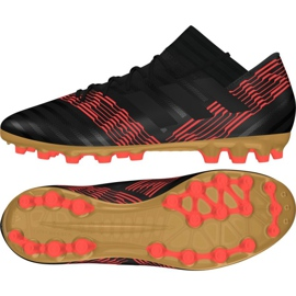 Fußballschuhe adidas Nemeziz 17.3 Ag M CP8994 schwarz schwarz