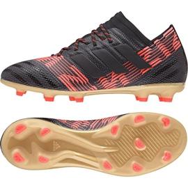 Fußballschuhe adidas Nemeziz 17.1 Fg Jr CP9152 schwarz