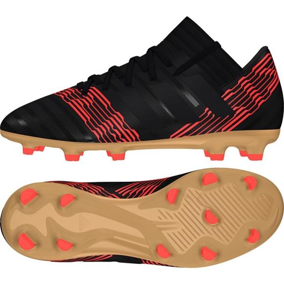 Fußballschuhe adidas Nemeziz 17.3 Fg Jr CP9165 schwarz