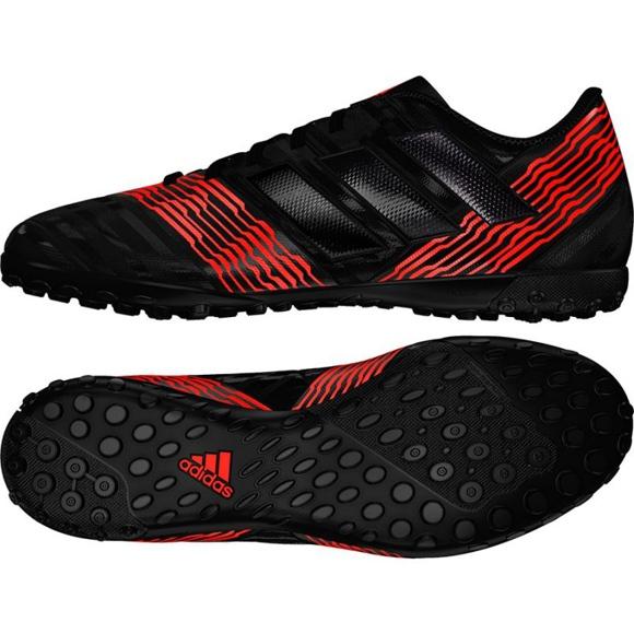 Adidas Nemeziz Tango 17.4 M CP9059 Fußballschuhe schwarz