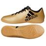 Indoor-Schuhe adidas X Tango 17.4 In M CP9149 gold gold, schwarz