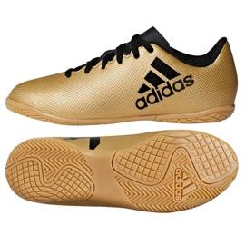Adidas X Tango 17.4 In Jr CP9052 Hallenschuhe gold