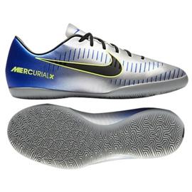 Hallenschuhe Nike MercurialX Victory Vi Neymar Ic Jr 921493-407 blau mehrfarbig