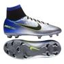 Fußballschuhe Nike Mercurial Victory Vf Neymar Fg Jr 921486-407 silber blau, grau / silber