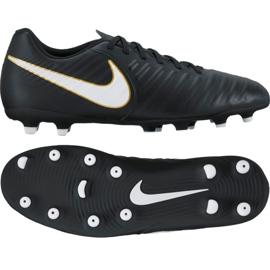 Fußballschuhe Nike Tiempo Rio Iv Fg M 897759-002 schwarz mehrfarbig