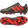 Fußballschuhe adidas Nemeziz Messi 17,4 Fg Jr CP9210 schwarz schwarz, gold