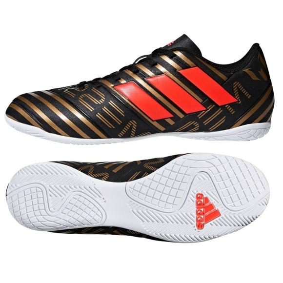 Indoor-Schuhe adidas Nemeziz Messi Tango In M CP9067 schwarz schwarz, gold