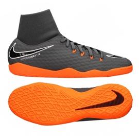Fußballschuhe Nike Hypervenom PhantomX 3 Academy Df Ic M AH7274-081 grau grau / silber