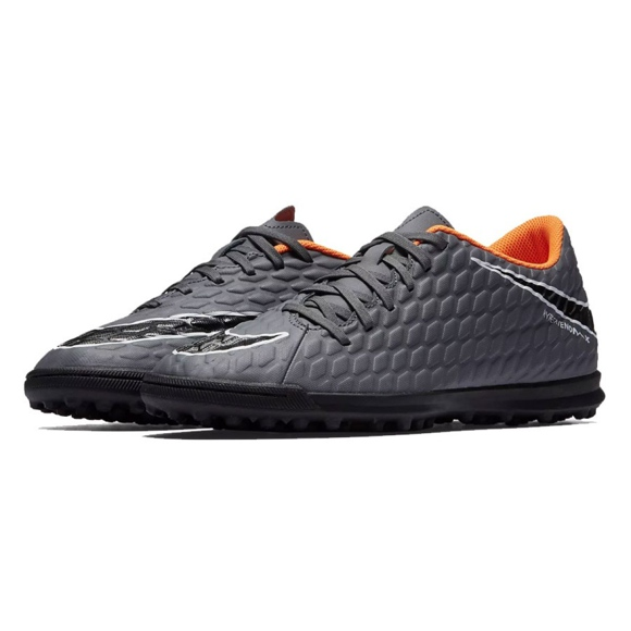 Fußballschuhe Nike Hypervenom PhantomX 3 Club Tf M AH7281-081 grau / silber grau