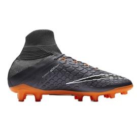 Fußballschuhe Nike Hypervenom Phantom 3 grau