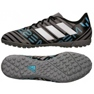 Fußballschuhe adidas Nemeziz Messi Tango Tf M CP9071 schwarz, blau, grau / silber schwarz