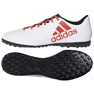 Adidas X Tango 17.4 Tf Jr CP9044 Fußballschuhe weiß weiß, rot
