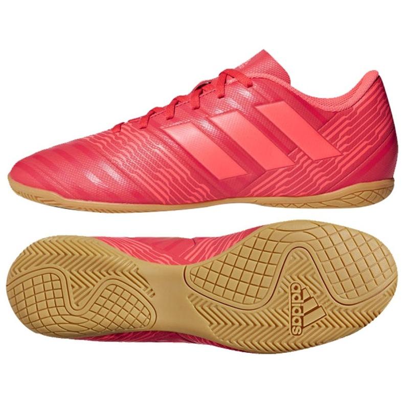 Indoor-Schuhe adidas Nemeziz Tango 17.4 In M CP9087 rot rot