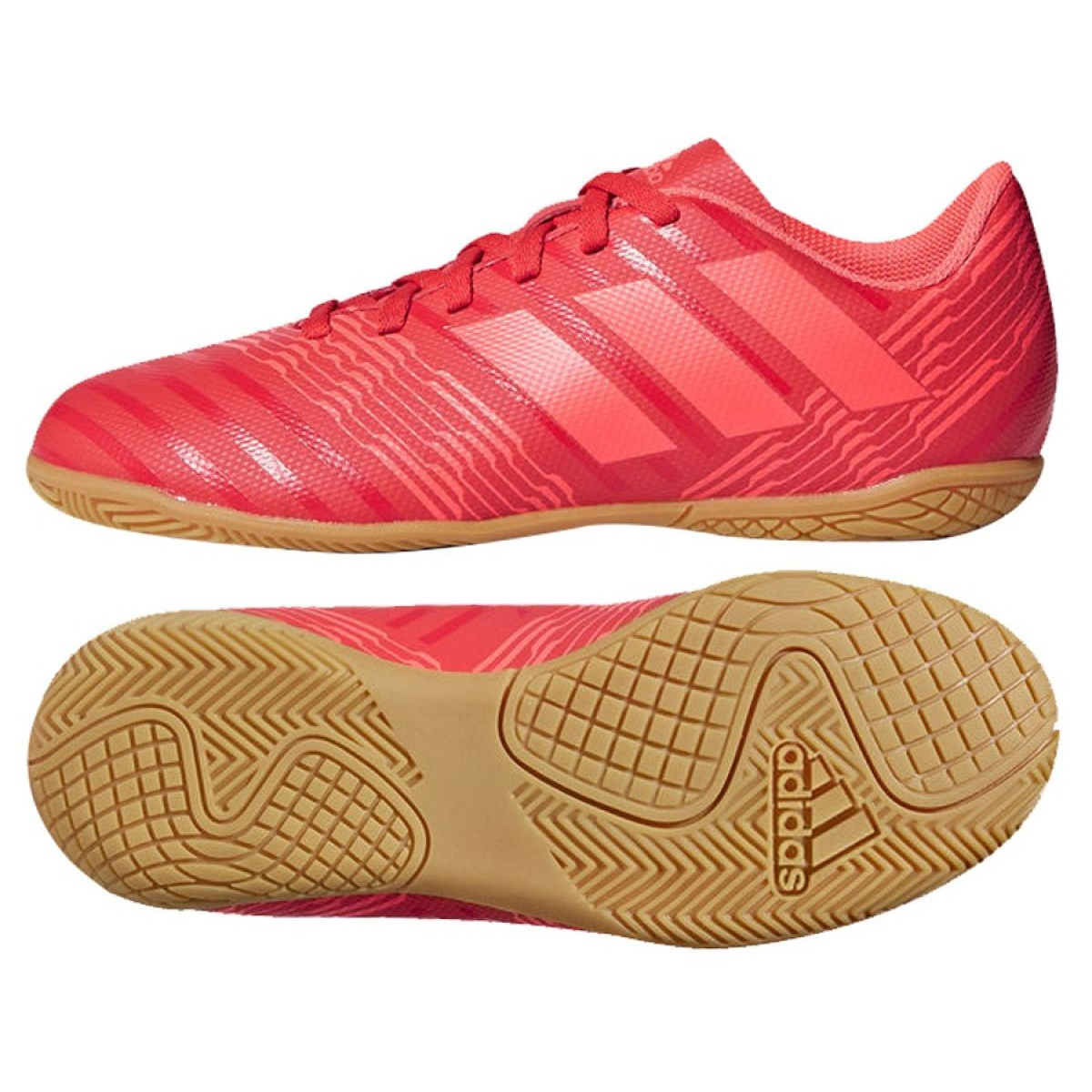 62b53ea39ae87 Adidas Indoor-Schuhe Nemeziz Tango 17.4 in Jr CP9222 - ButyModne.pl