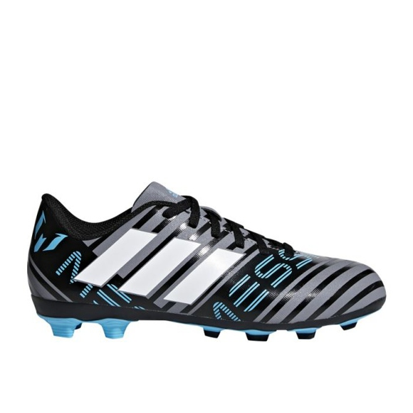Schuhe adidas Nemeziz 17.4 FxG Junior CP9211 grau / silber, mehrfarben mehrfarbig