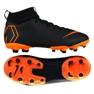 Fußballschuhe Nike Mercurial Superfly 6 Academy Gs Mg Jr AH7337-081 schwarz schwarz