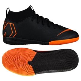 Hallenschuhe Nike Mercurial SuperflyX 6 Academy Gs Ic Jr AH7343-081 orange schwarz