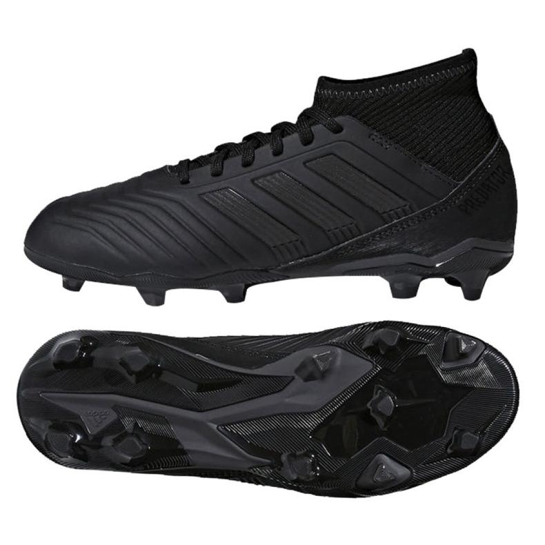 Fußballschuhe adidas Predator 18.3 Fg Jr CP9055 schwarz schwarz