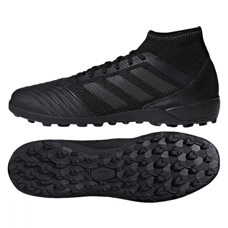 Fußballschuhe adidas Predator Tango 18.3 Tf M CP9279 schwarz schwarz