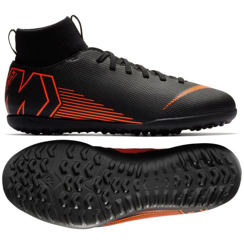 Nike Mercurial SuperflyX 6 Fußballschuhe schwarz