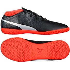 Puma One 18.4 It Junior Fußballschuhe schwarz