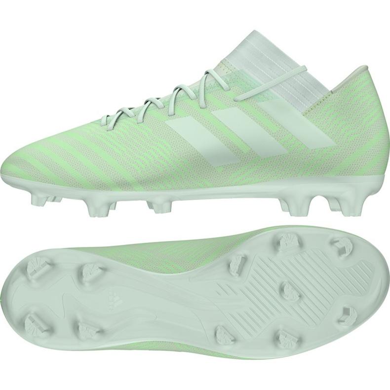 Fußballschuhe adidas Nemeziz 17.3 Fg M CP8989 grün grün