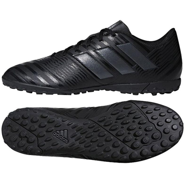 Adidas Nemeziz Tango 17.4 Tf M CP9061 Fußballschuhe schwarz schwarz
