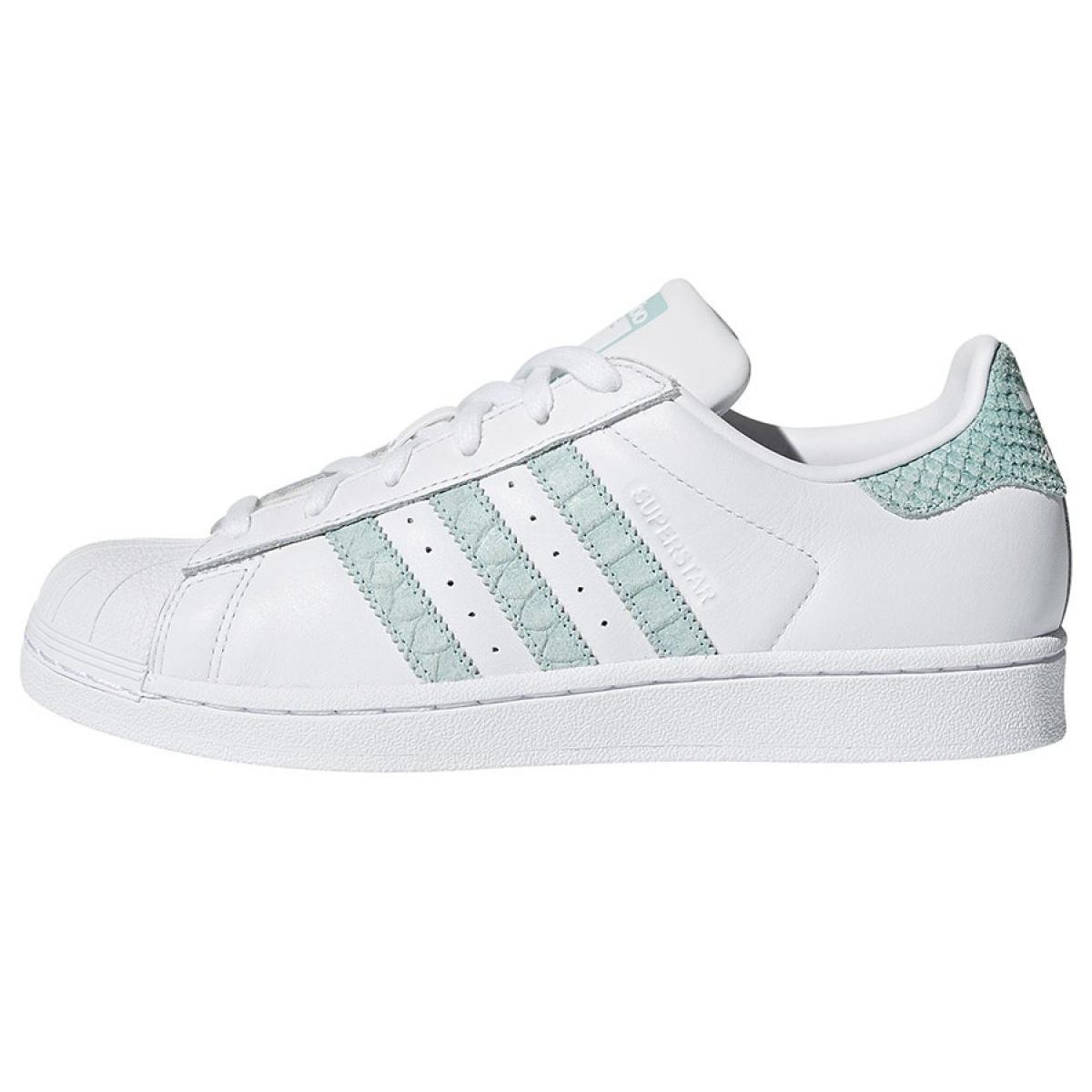 new arrival fd229 ce75d Weiß Adidas Originals Superstar Schuhe in CG5461