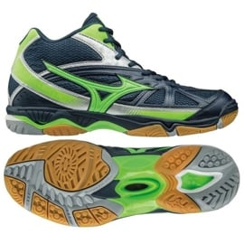 Mizuno Wave Hurricane 2 Mid M V1GA164536 Volleyball Schuhe