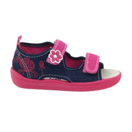 American Club Amerikanische Sandalen Kinderschuhe Leder Einlegesohle