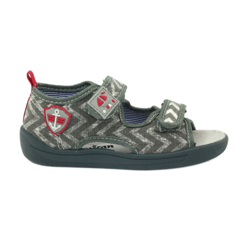 American Club graue Kindersandalen TEN36