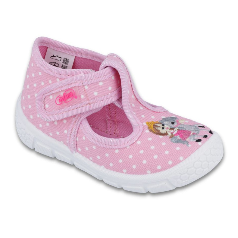 Befado Kinderschuhe Honig-PU 531P005 pink