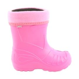 Pink Befado Kinderschuhe kalosz- róż 162X101